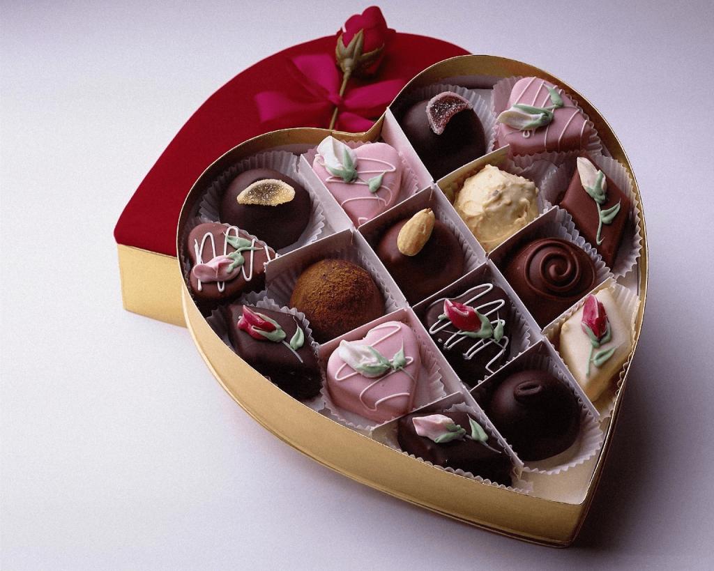 Набор из горького шоколада