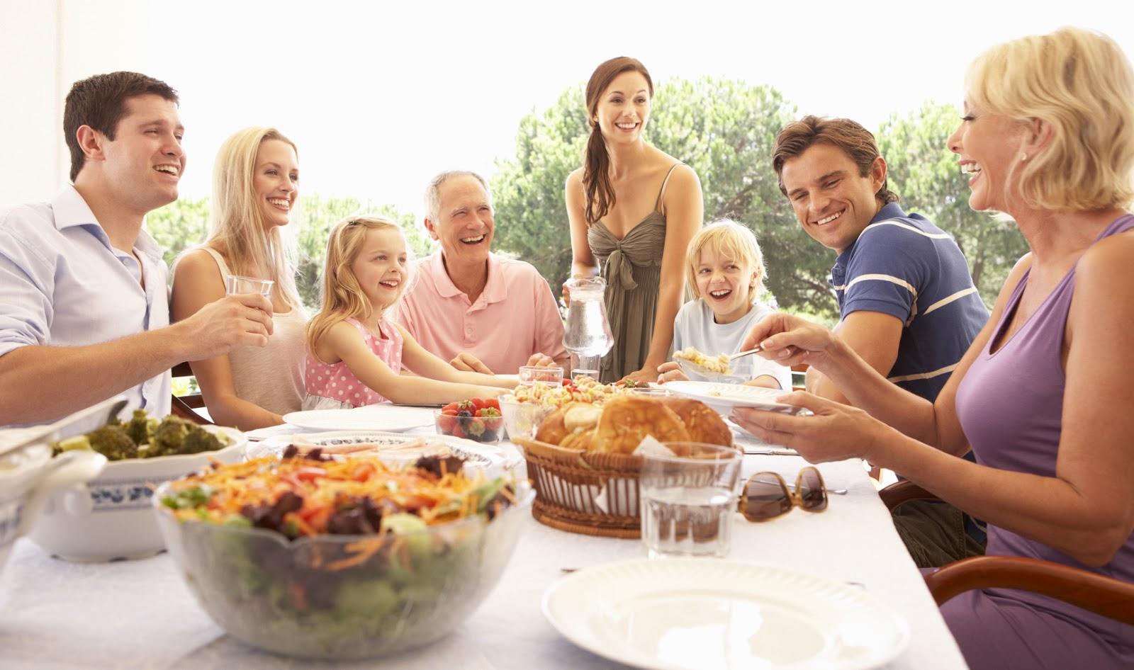 Рецепты для большой семьи