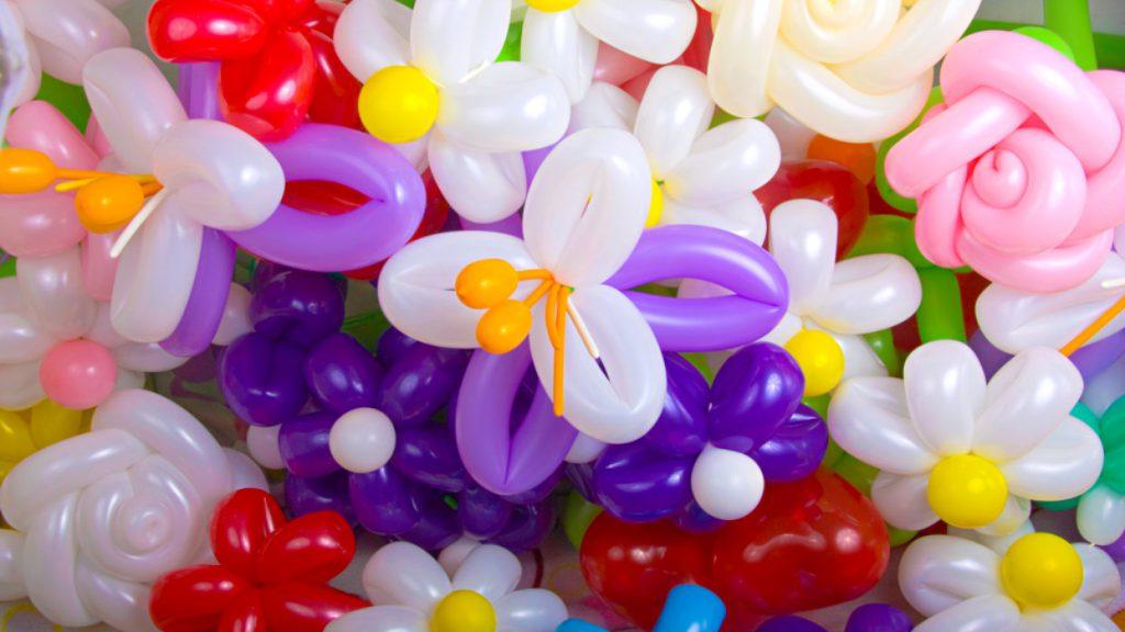 Бутоны из воздушных шаров