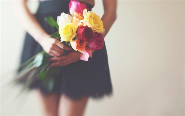 Букет в подарок: как выбрать цветы