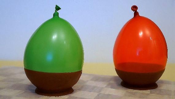 ваза из шоколада детям на новый год