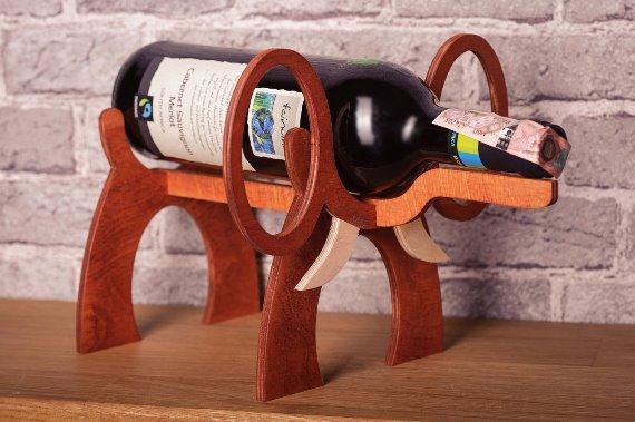 Подставка для новогоднего вина