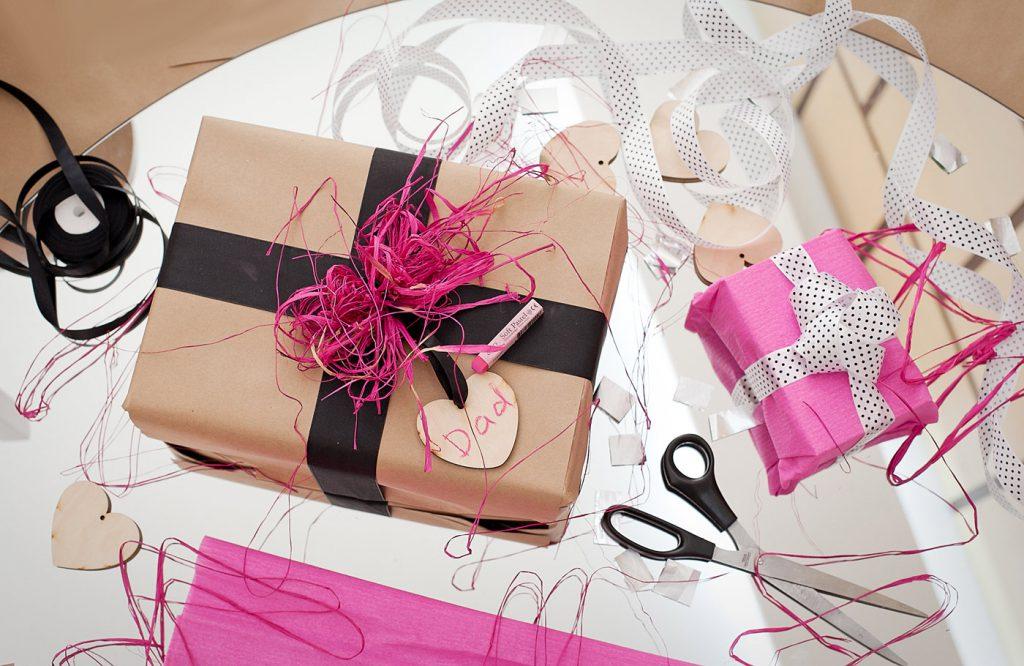 упаковка подарка своими руками