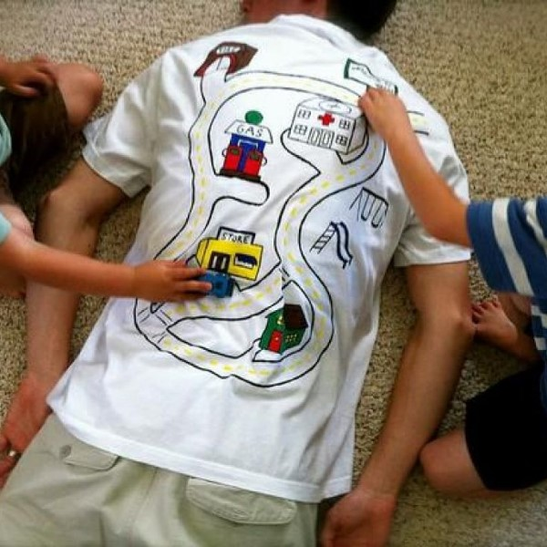 футболка-массаж на 23 февраля