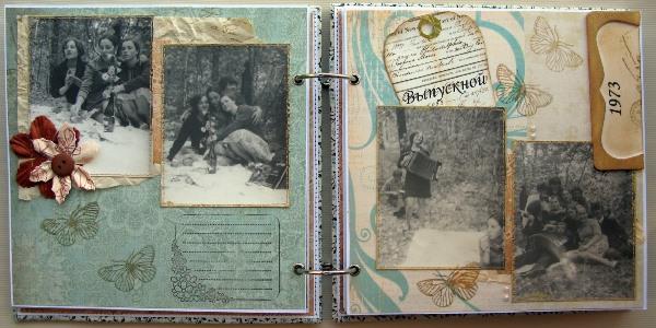 альбом с фотографиями деду