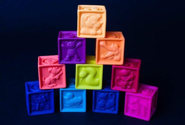 Тактильные кубики