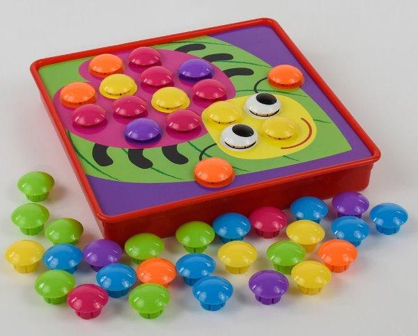 Мозаика крупная для малышей