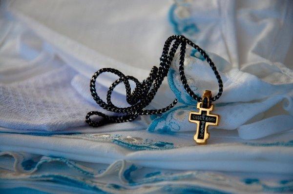 Крестик от крестного