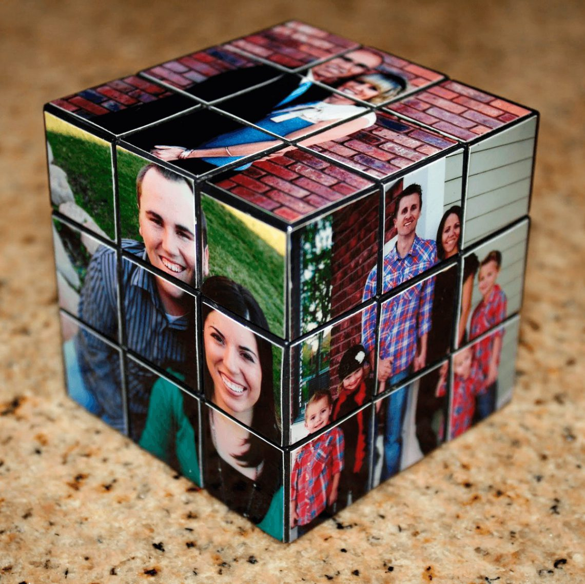сделать фото кубик рубик тюнинг
