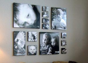 Стильно подобранные фотографии для оформления стены - хороший интерьерный подарок