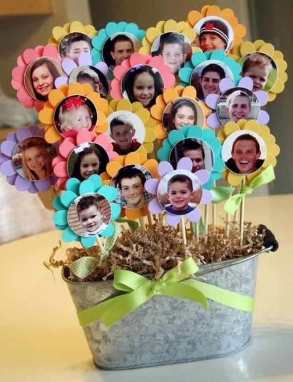 цветы с фотографиями