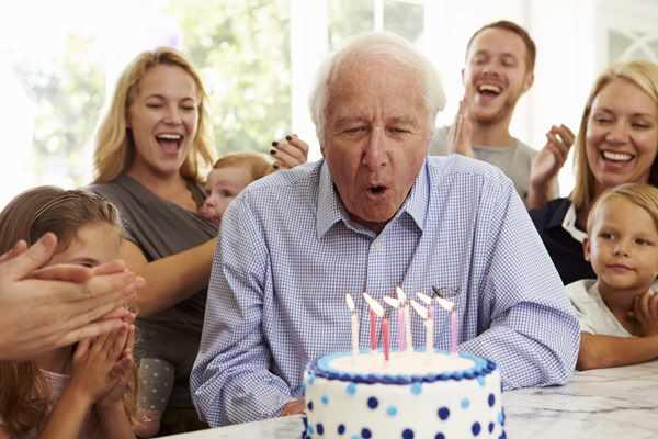 Дедушкин день рождения