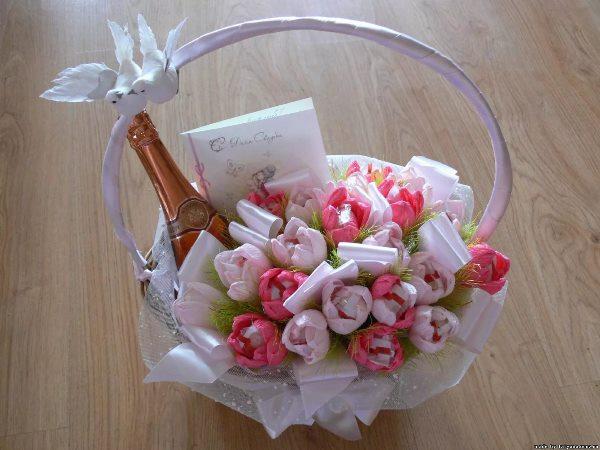 цветы с рафаэлками