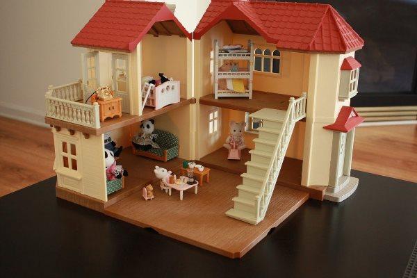 кукольный домик с зайчатами