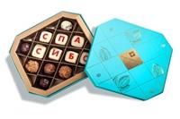 Набор конфет с надписями