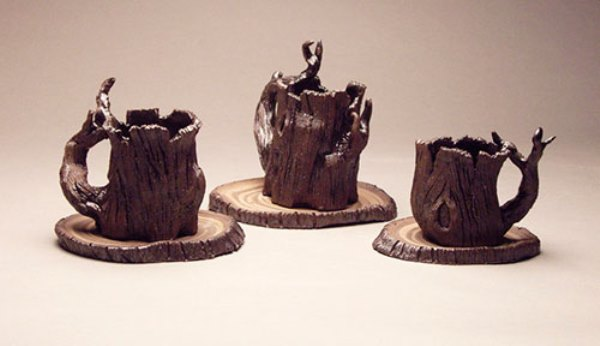кружки ствол дерева