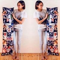 лонг-подушка с вашими фото
