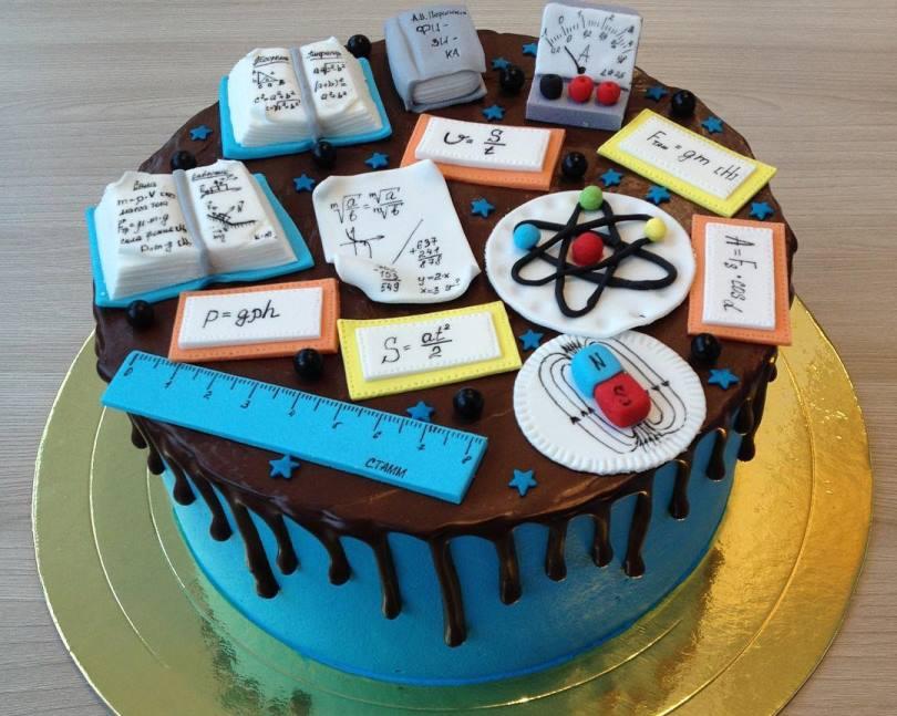 Оригинальный торт в честь праздника