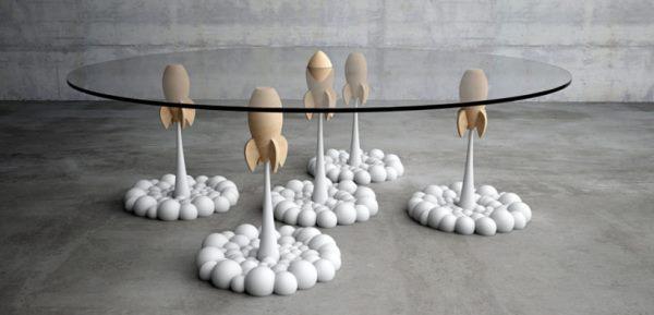 дизайнерский столик