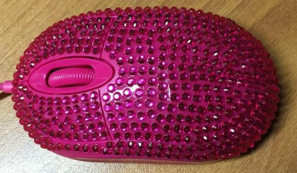 розовая мышка