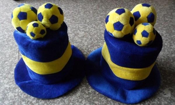 шапки футбольного болельщика