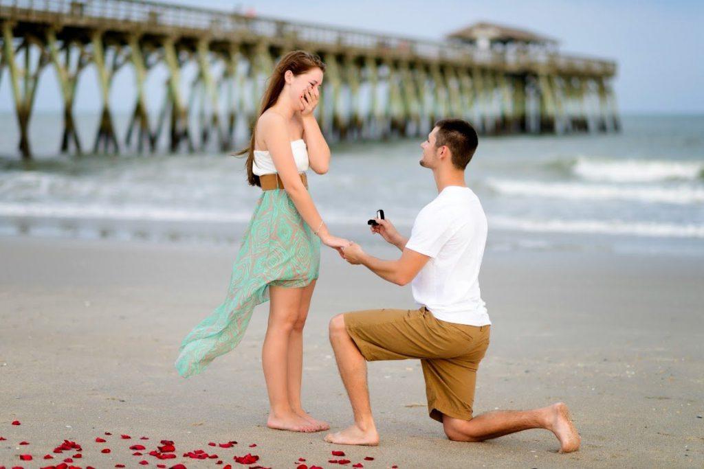 кольцо с предложением