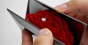 подарок девушке кольцо