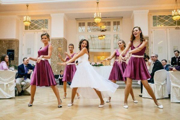 танец на свадьбу