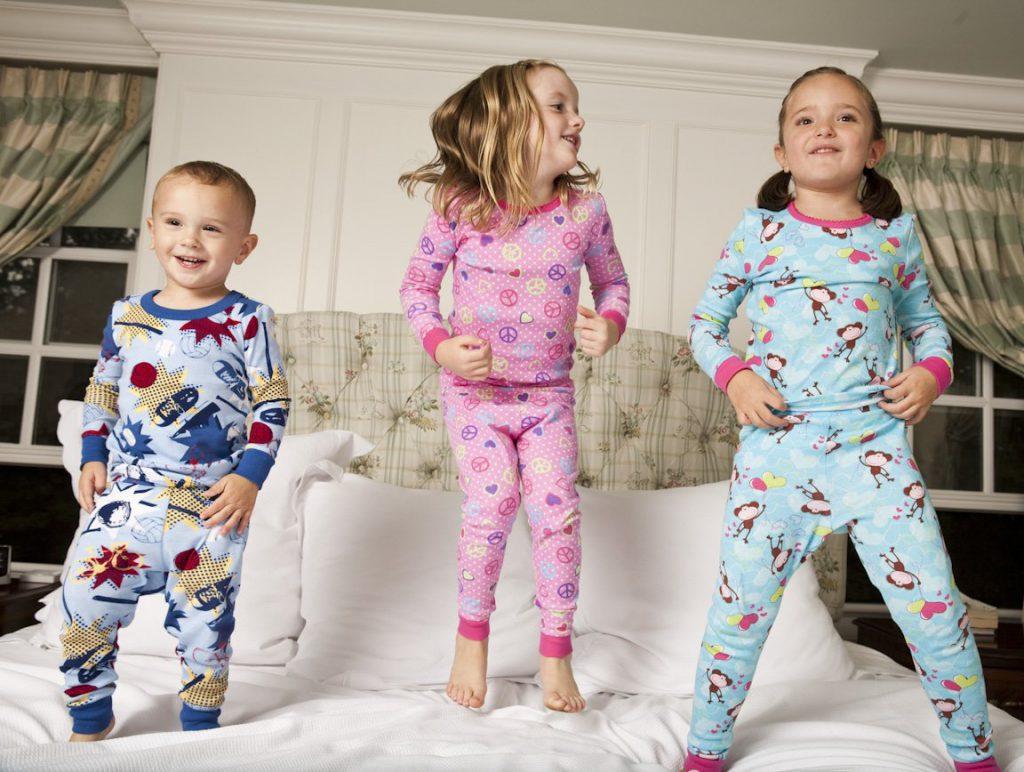 В детской пижаме