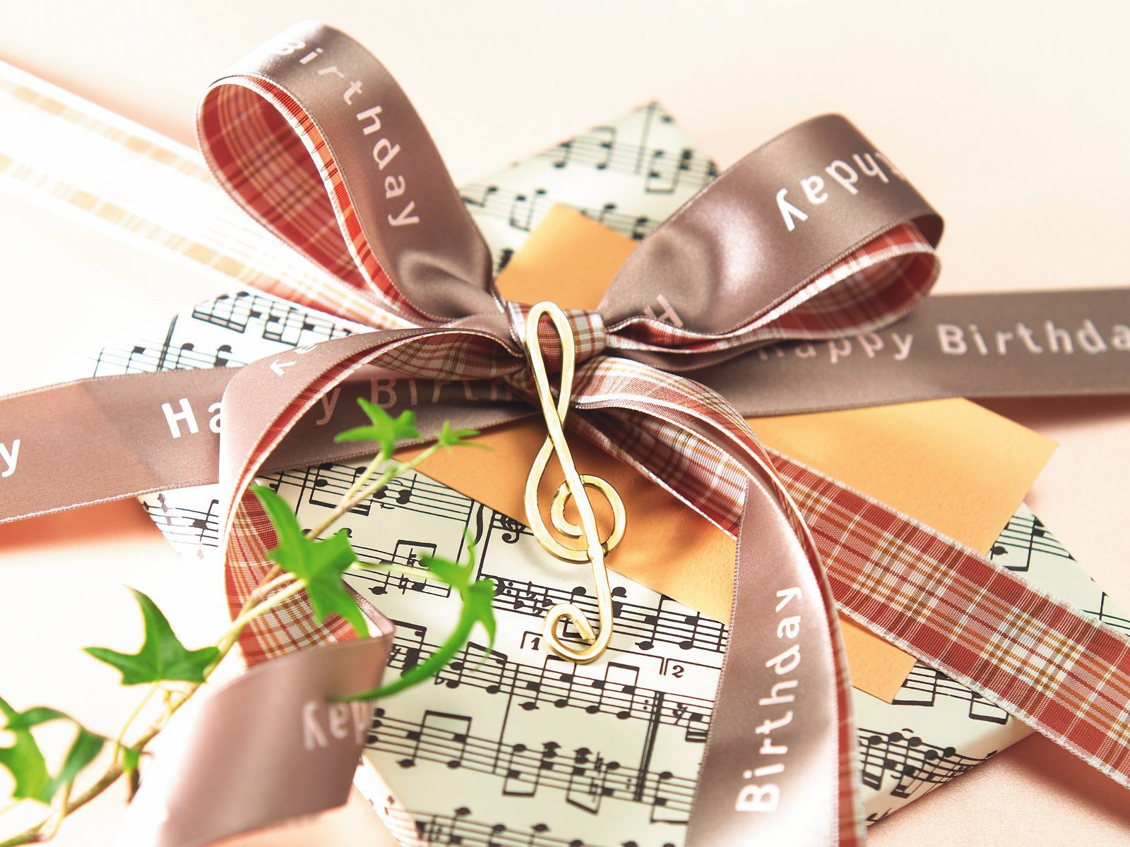 Подарок музыканту
