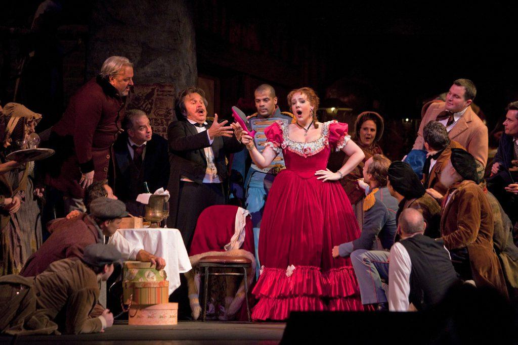 Картинка в опера, маргарите