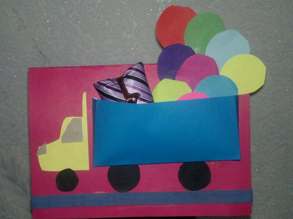 Открытка с днем рождения папе от сына своими руками, открытки