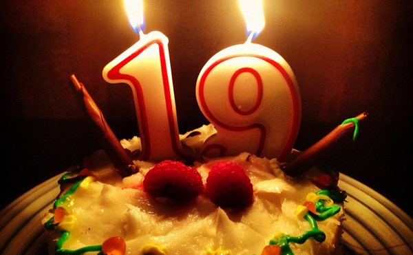 Поздравить сына на 19 лет