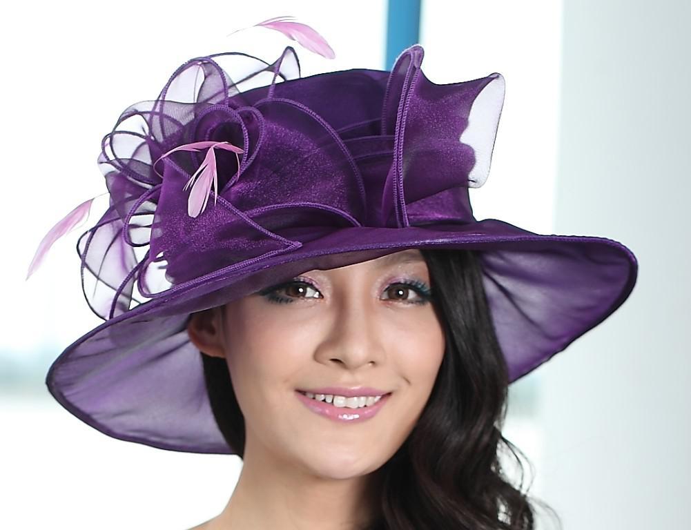Дизайнерская шляпка