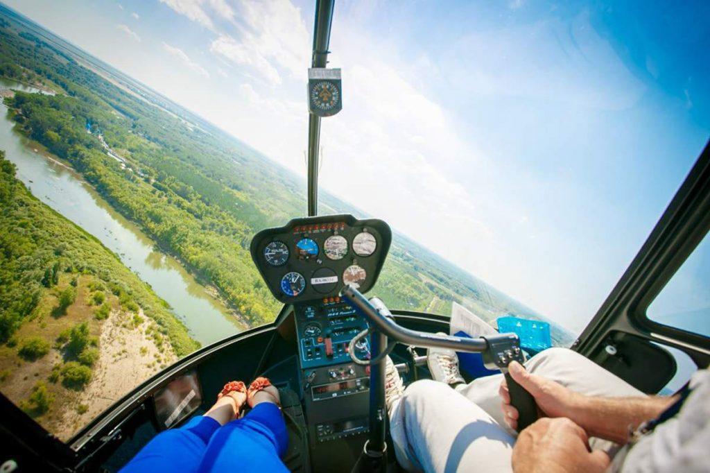вертолетная прогулка