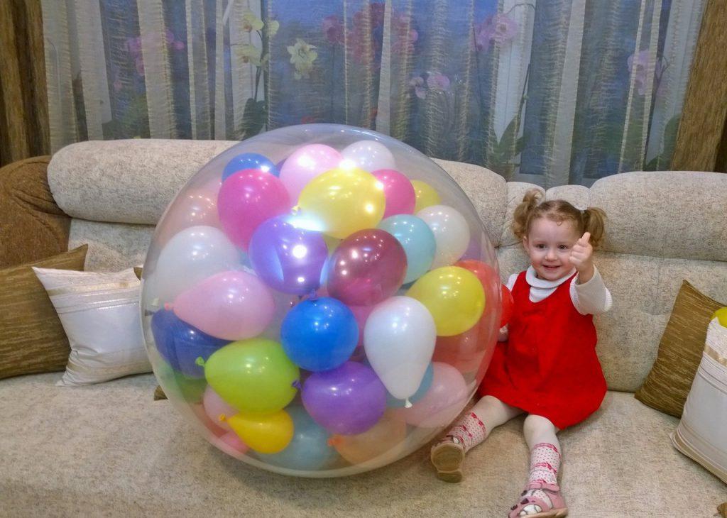 шарики в шаре