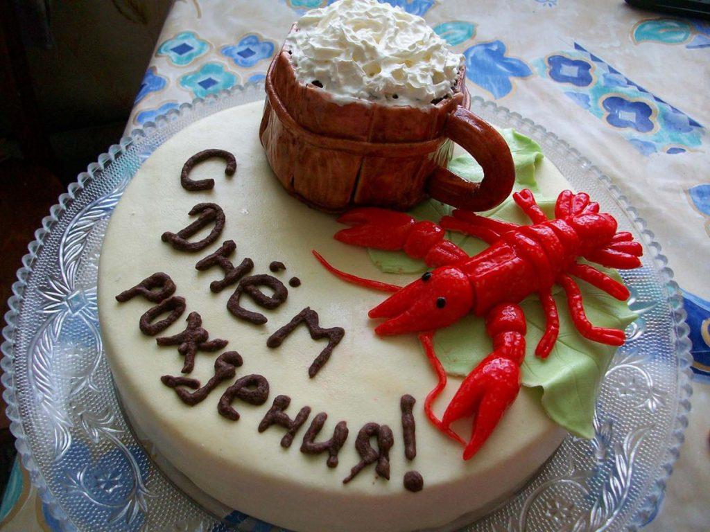 Оригинальный торт