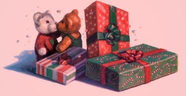 нарисовать подарок