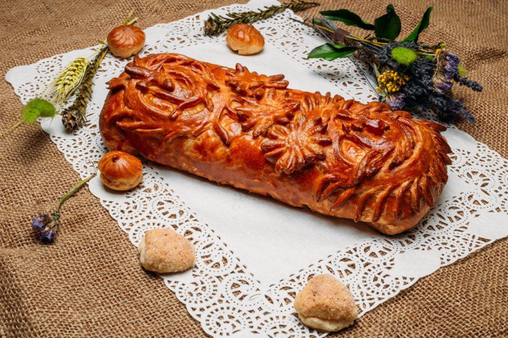 Пирог с мясом для супруга