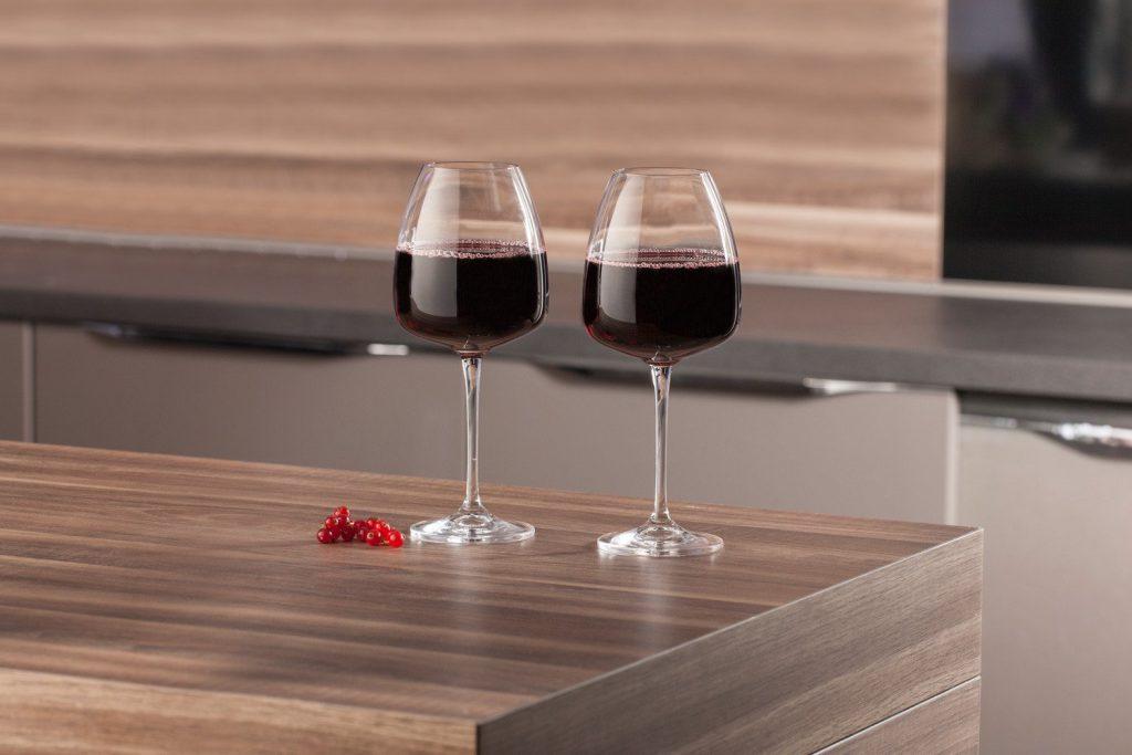 фужеры под вино