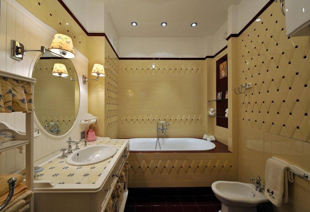 Ремонт в ванной комнате с покупкой сантехники