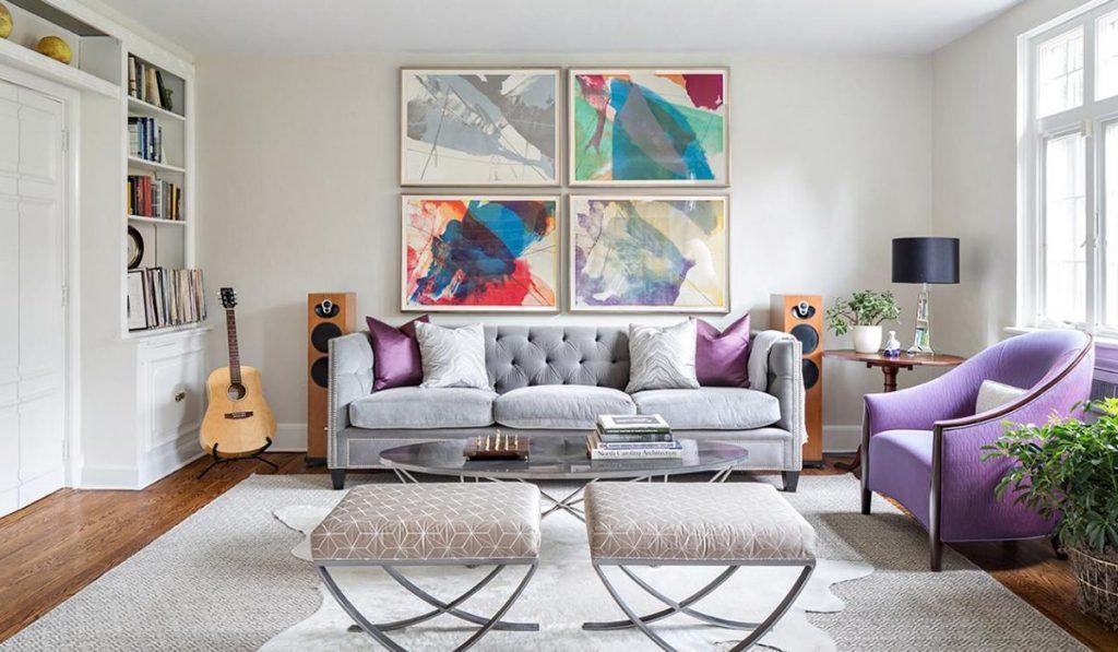 Стильный диван и кресло