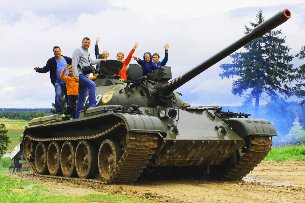 Катание на танке