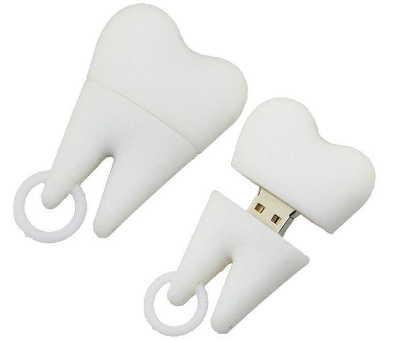 Флешка-зуб
