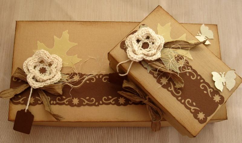 Сделать красивую упаковку своими руками