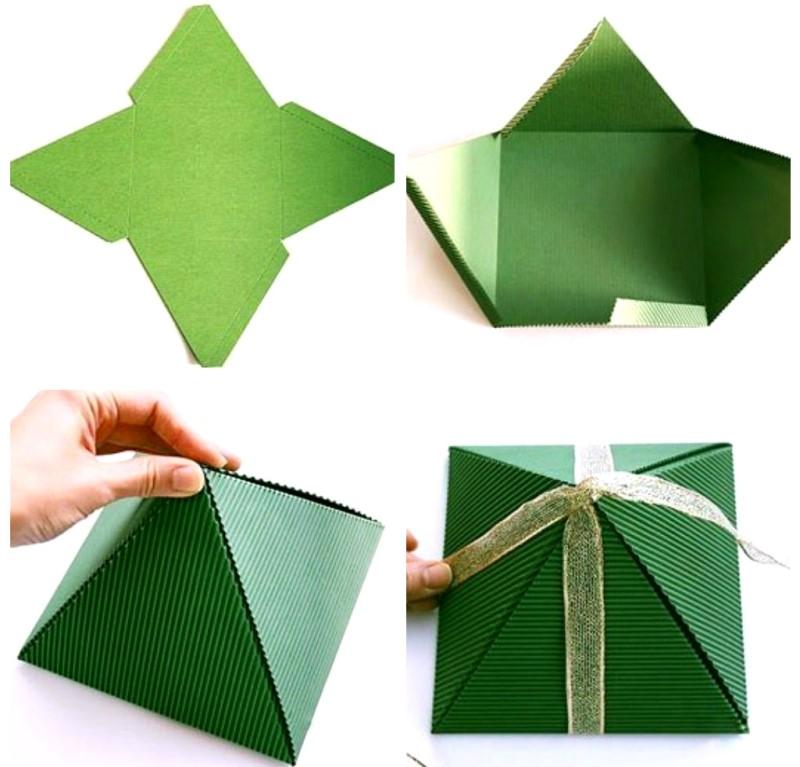 Коробка-пирамидка
