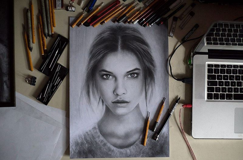 Портрет своими руками