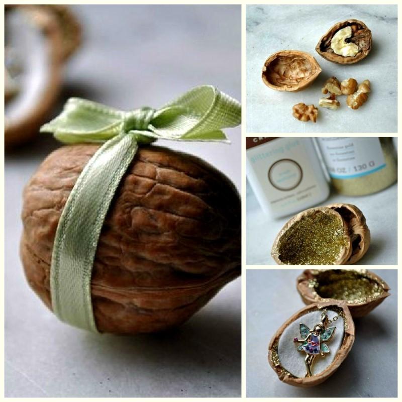 Подарок в орехе