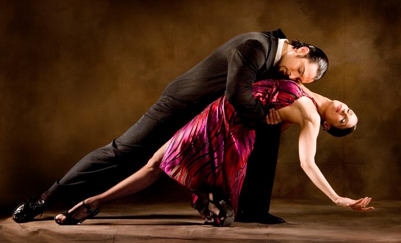 Занятия парными танцами