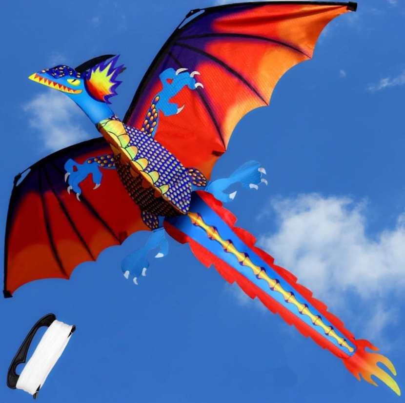 Волшебный змей-дракон
